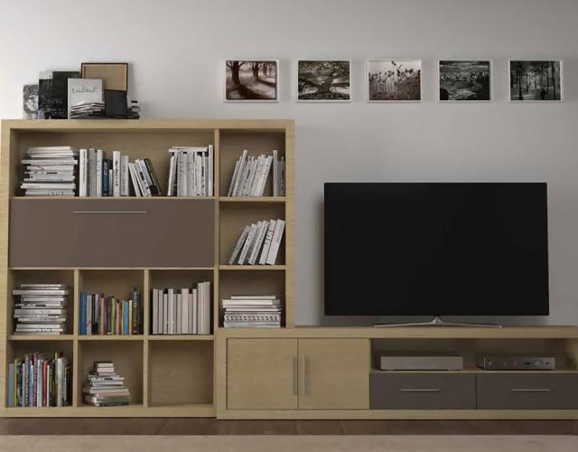 Muebles de comedor modulares para personalizar tu sal n for Muebles nogal yecla