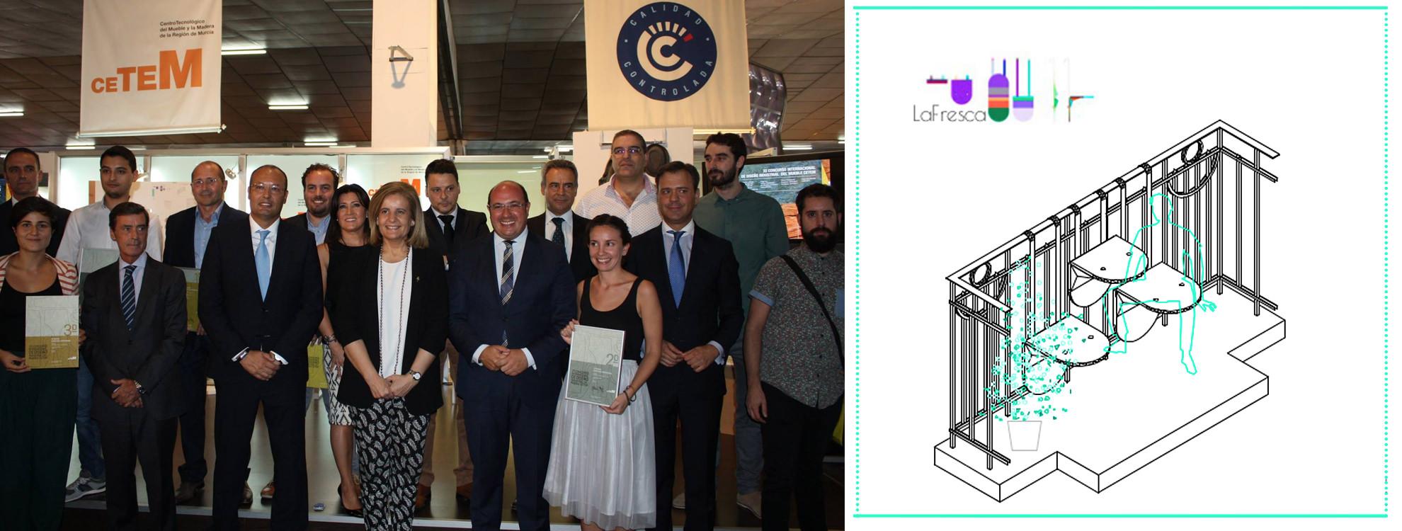 Nogal yecla obtiene el 2 premio en el concurso for Muebles nogal yecla