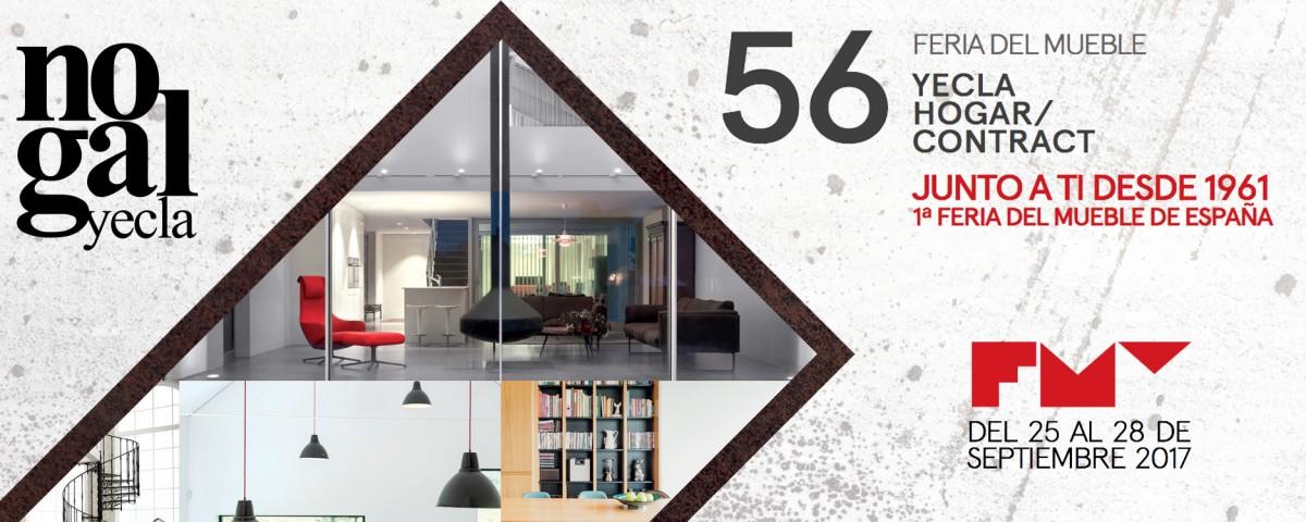 Nuevas creaciones en feria del mueble yecla 2017 nogal yecla for Muebles nogal yecla